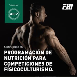 Programación De Nutrición Para Competiciones De Fisicoculturismo