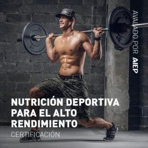 Nutrición Deportiva Para El Alto Rendimiento