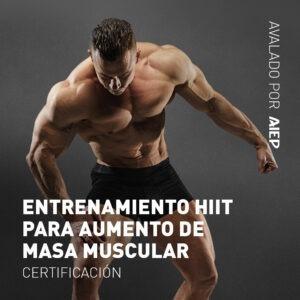 Entrenamiento HIIT para Aumento de Masa Muscular