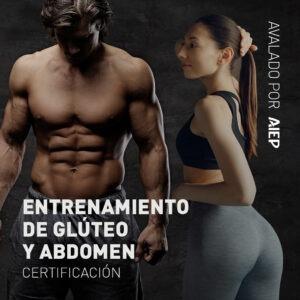 Entrenamiento de glúteo y abdomen