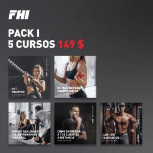 Pack 1 de 5 cursos
