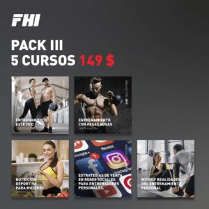 Pack 3 de 5 cursos